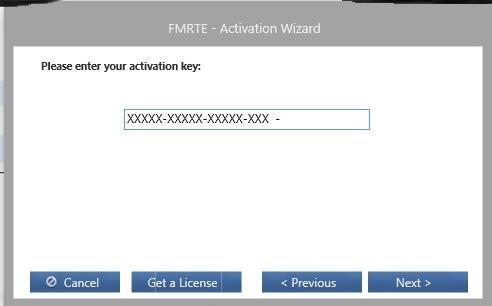 fmrte 19 activation key
